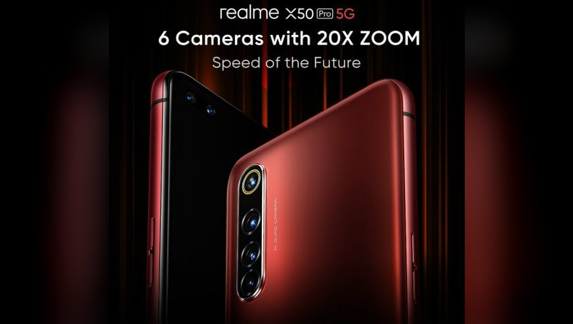Realme X50 Pro to launch with 32-megapixel dual ultrawide selfie camera